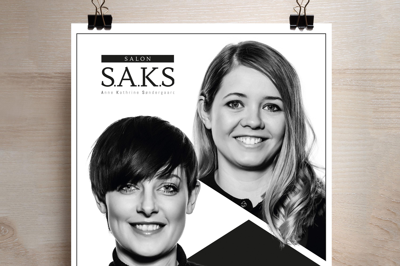 Flyer Salon Saks