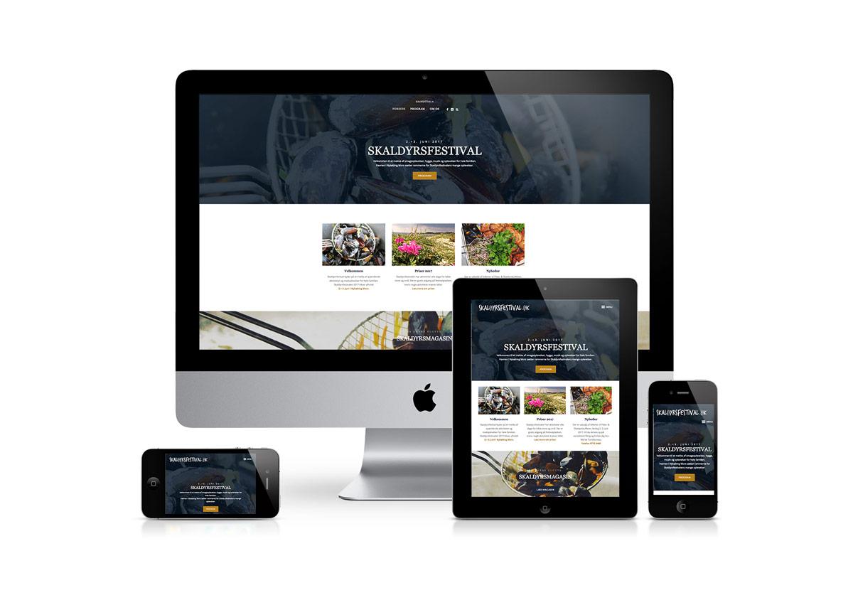 Skaldyrsfestival får ny hjemmeside