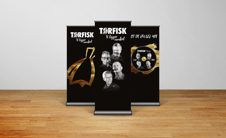 TØRFISK udgiver ny CD