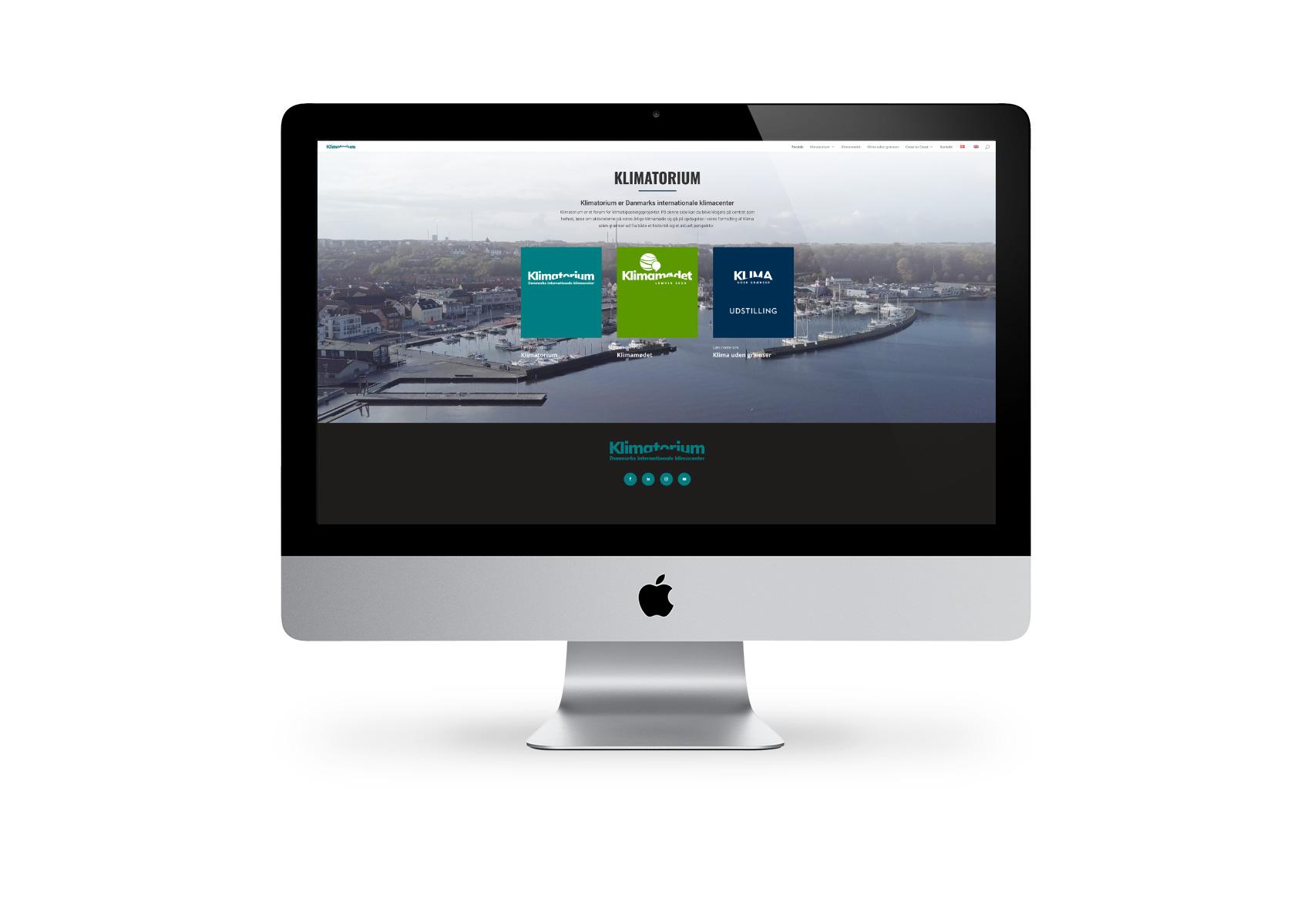 Hjemmeside til Klimatorium